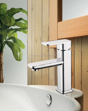 Cold Hot water copper basin faucet for bathroom single handle sink wash basin tap