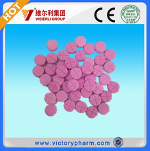 Animal drugs manufacturer cattle dewormer Ivermectin 400mg Tablet for cattle goats look for distributor