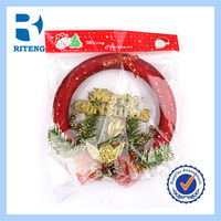hanging artificial christmas garland green