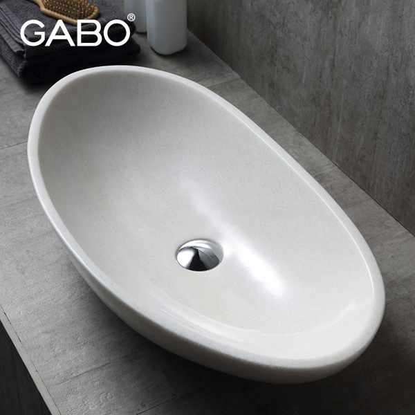 Modern designer wash basin for hotel bath