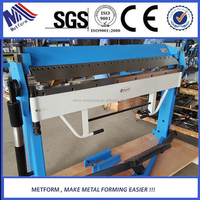 manual metal plate bending machine /plate bender/hand press brake small machinery