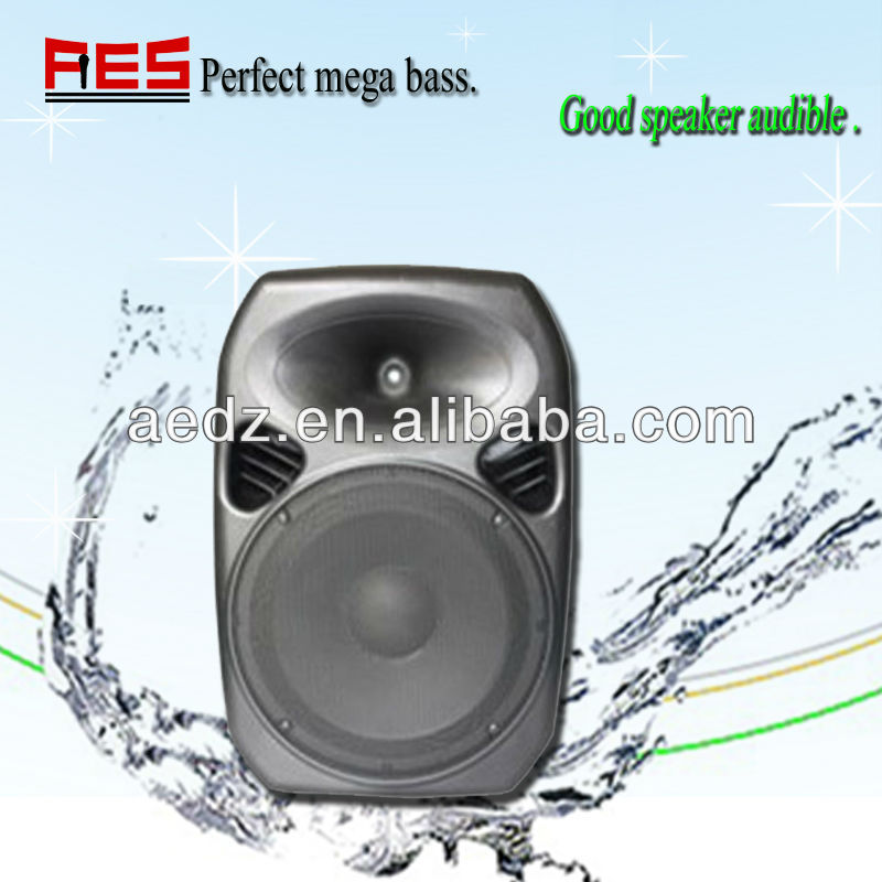 Rechargeable battery powered portable perfect sound waterproof portable speaker case with usb sd
