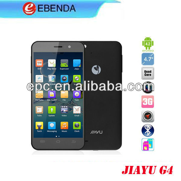 iayu G4 mtk6589 smartphone quad core moblie cheap android phones,4.7 inch 1G RAM android 4.1 quadcore phones smart and