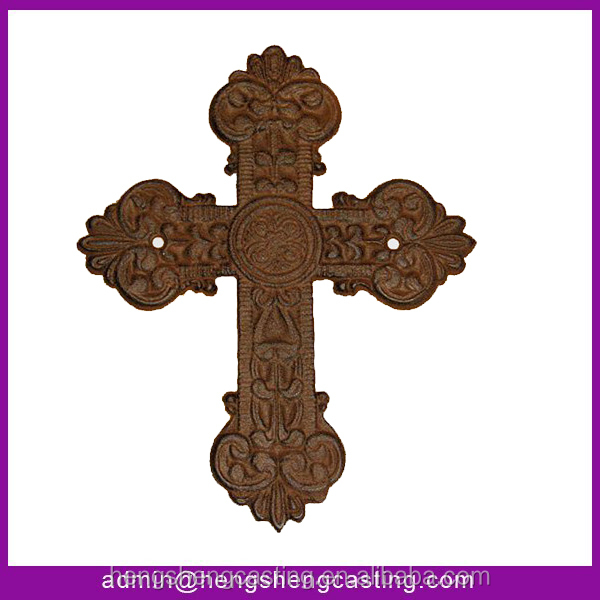 Cast Iron Small Home Decorative Wall Cross