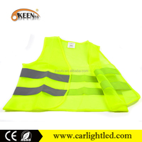 High Visibility reflex fabric reflective running vest and traffic safety cloth