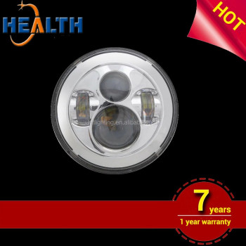"Wholesale 7"" led headlight,12v 24v75W jeep or SUV"