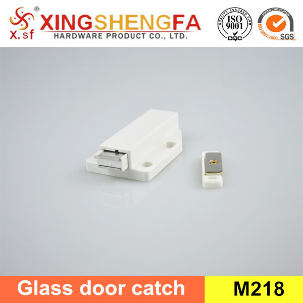New arrival white brown high quality glass door magnetic catches