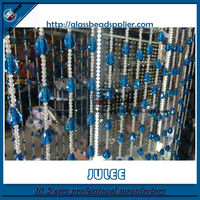 2015 Hot Selling Elegant Hanging Glass Bead Curtain