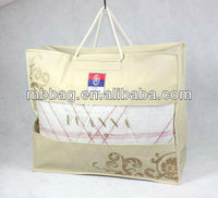 quilt plastic packaging vacuum compressed carrier bags