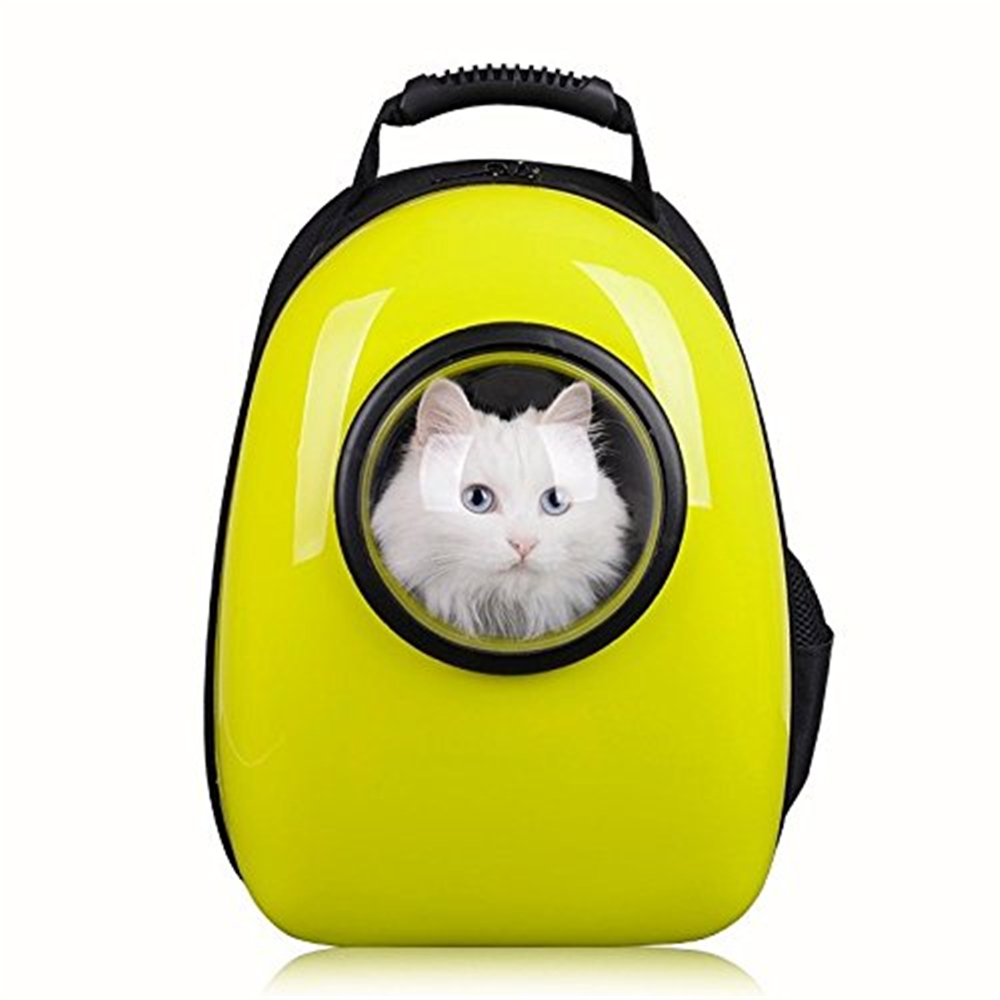 Astronaut Capsule Pet Backpack Transparent Breathable Dog Cat Carrier Travel Bag