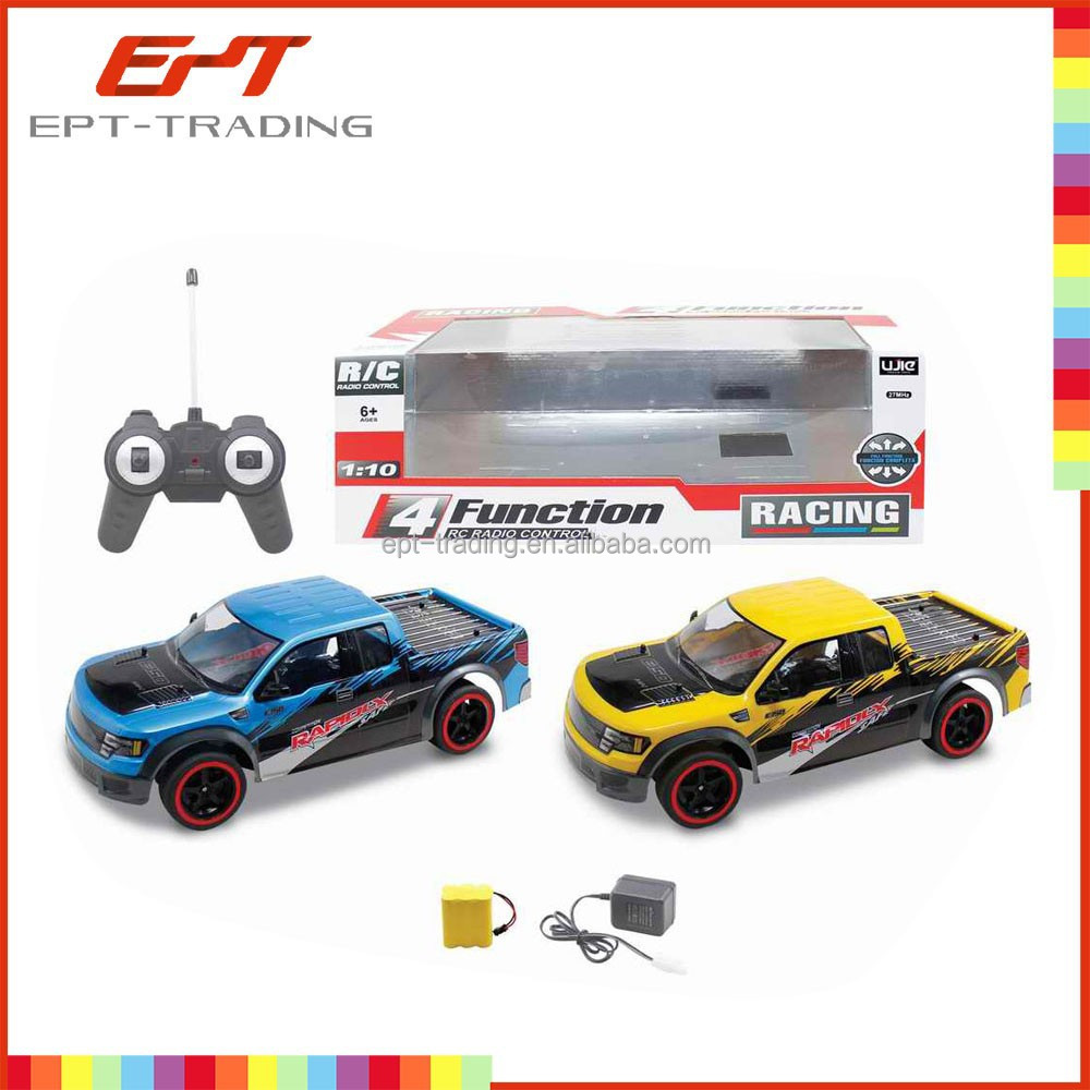 Hot sale 1:10 scale 4 function model car with battery and charger