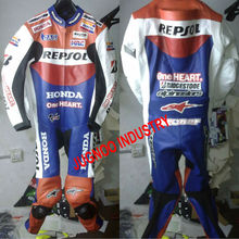 Repsol Leather Biker Suit