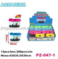 Sell Growing fish pet in aquarium toy