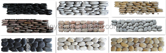 round pebble mosaic on sales