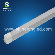 CE Frosted LED T5 tube lighting with internal driver and fixture