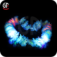 Hot Selling Machined Arts Led Plastic Hawaiian Leis