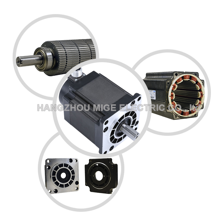 hybrid 3 phase high rpm Nema43 stepping  motor with driver 220V