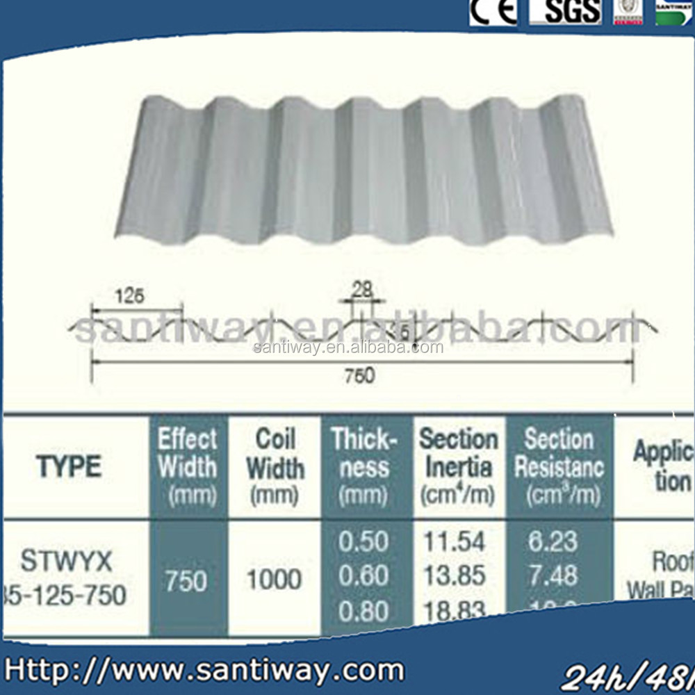 OEM cheap French light structure coated metal roof tiles supplier