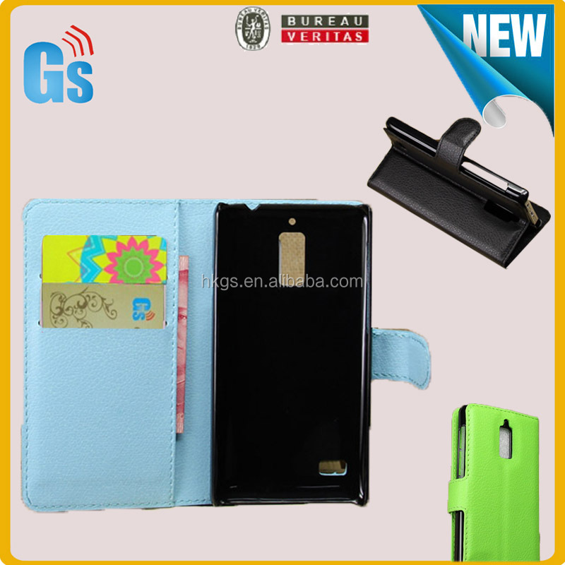 Online-shopping India Sites Wallet Card Holder Design Blue Sky Leather Stand Case Cover For Huawei Ascend G526