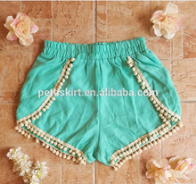 New Fashion Summer Kids Shorts the bulb multicolor fashion girls short pants hot pants young girls short pants