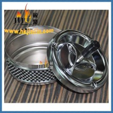 JL-020S Yiwu jiju Beautiful Design Ashtrays metal with simulation diamond ashtray