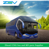 ZEV 6129 intercity bus factory price of new bus Diesel coach bus for sale