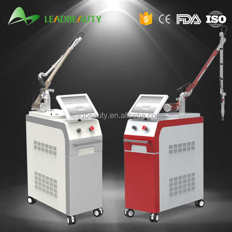 Popular 1064nm / 532nm Q Switch ND YAG laser machine for all colorized tattoo removal