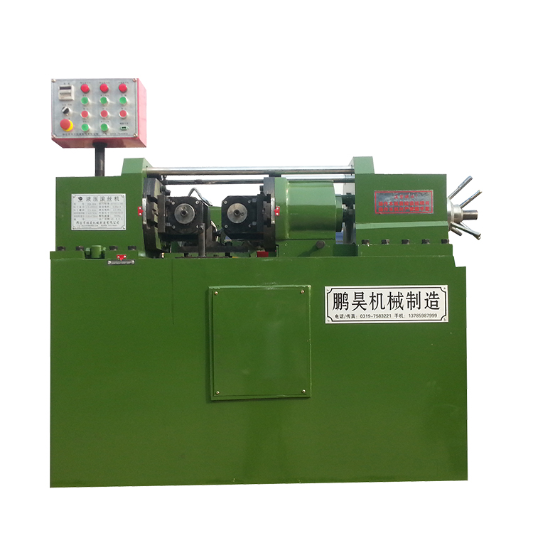 Hydraulic thread rolling machine price , bolt making machine Z28-80