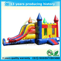 jumping castles inflatable water slide,inflatable bouncy castle with water slide,jumping castle with slide and pool
