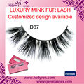 100% Luxury Real Mink Fur Eyelash Eyelash Packing