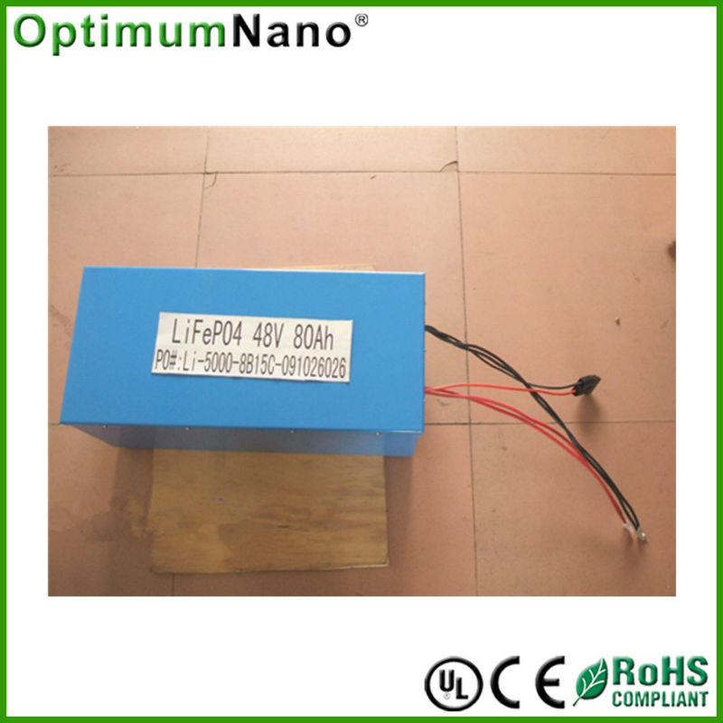 electric golf car battery 48v 80ah lithtium ion battery