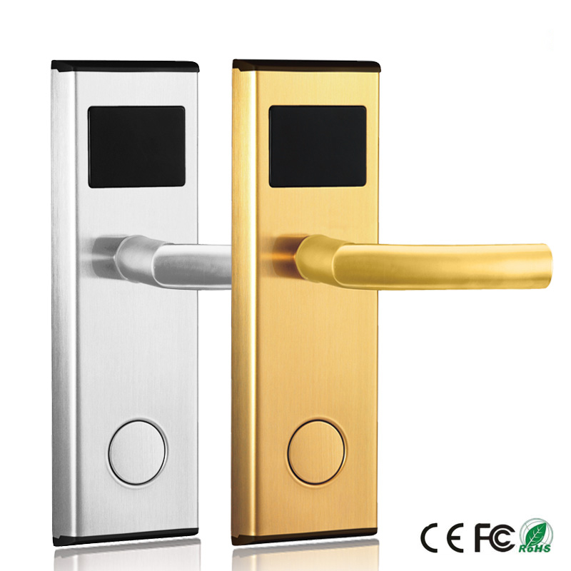 Intelligent Safe Keyless Electronic Digital Door Lock For Smart Hotel Door  Lock System   Buy Hotel Door Lock,Hotel Door Lock System,Hotel Card Door  Lock ...