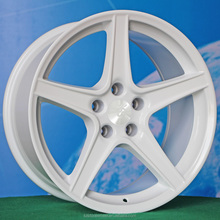 18inch white 5*114.3 big factory wheel rims for car suv