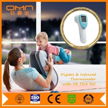 Portable infrared forehead fever thermometer with FDA certificate