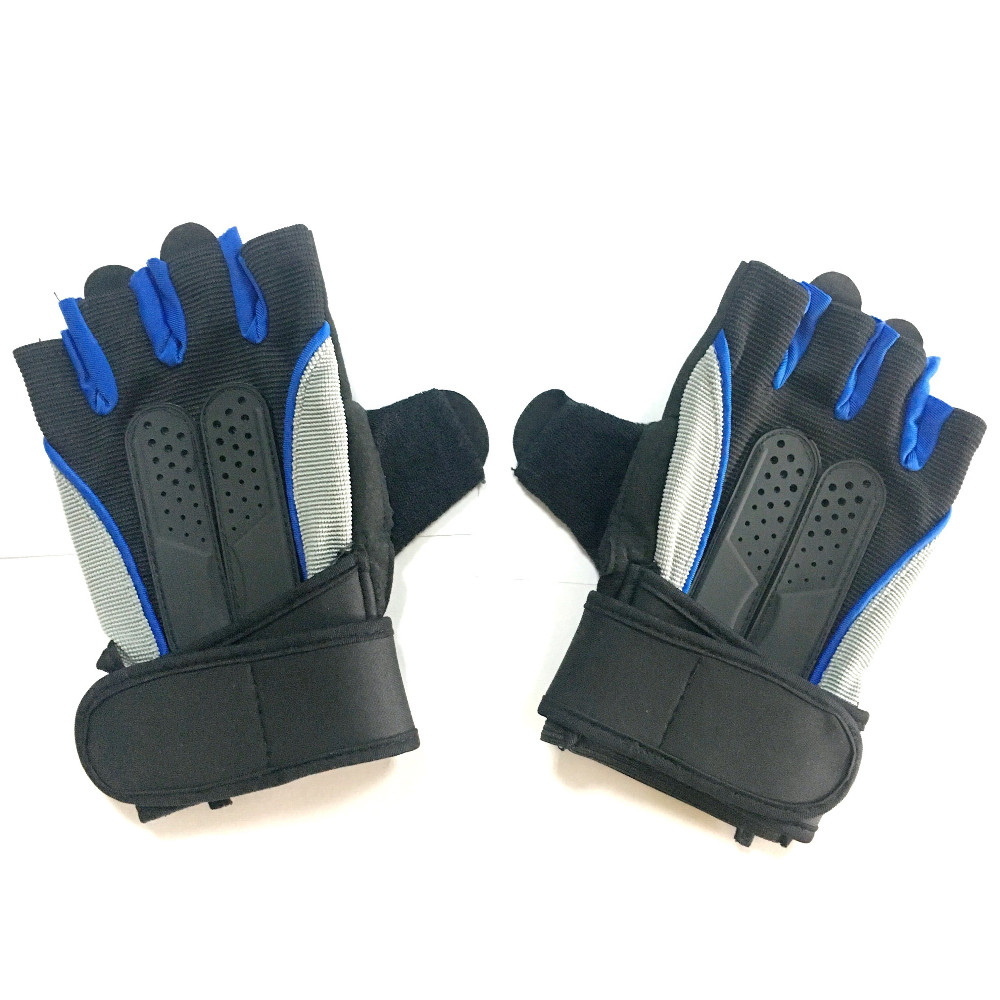China supplier wholesale OEM men's weight lifting cross fit gym training gloves