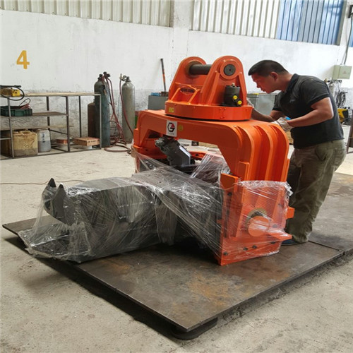 China manufacturer Excavator concrete compactor pile driver hammer