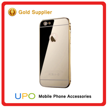 [UPO] Aluminum Bumper Ultra-thin Mirror Metal Phone Case Cover For Apple iPhone 5 5s 6 6 plus