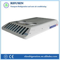 Roof mounted air conditioner AC12 for van with large cooling air volume and low noise
