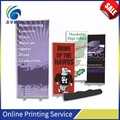 High quality portable display banner/stand up banner