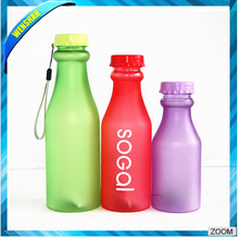 BPA free Portable Plastic Frosted soda Tritan drinking water bottle