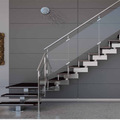 Tempered Glass Staircase