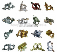 zinc plated scaffoding couplers with EN74 BS1139 AS1576 standards