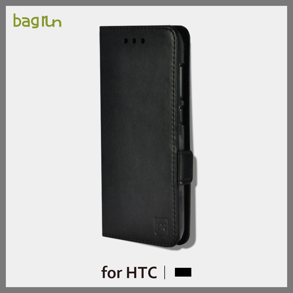 OEM Magnetic Flip Genuine Leather Mobile Phone Case for HTC M8 with Stand Function Case