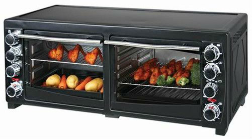 economical and practical type household double cases 19L electric Oven