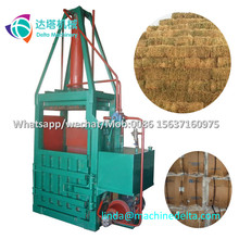 factory direct sell full automatic hydraulic waste paper cardboard baler