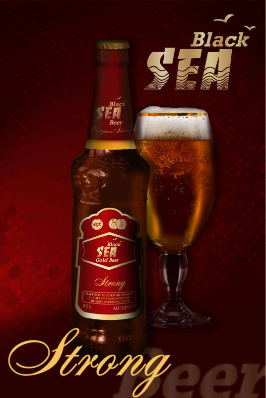 Black Sea Gold Strong Beer