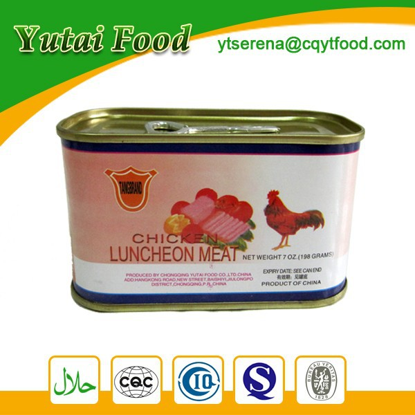 Chicken Products Halal Chicken Luncheon Meat Hot Sale