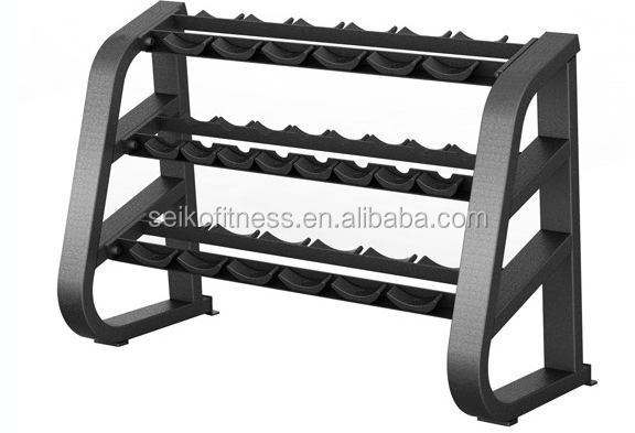 Professional gym machines/fitness equipment/ Beauty Dumbell Rack JG-1602A