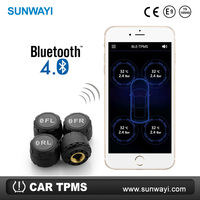 New Tire Monitor smart phone TPMS bluetooth for car tire pressure monitoring system