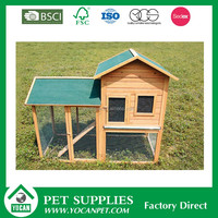 wooden outdoor the rabbit hutch